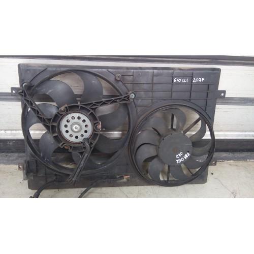 Вентилятор радиатора Skoda Fabia, (2002), 1.4i, 6Q0959455J