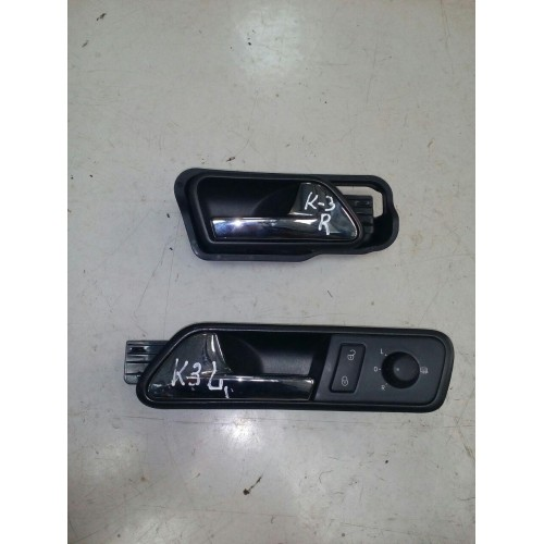 Ручка двери передней левой внутренняя VW Caddy 3, 1T1837113D