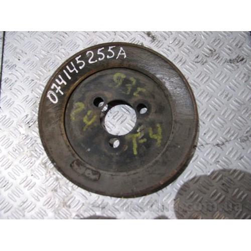 Шкив насоса гидроусилителя руля VW T4 Transporter 2.4d AAB 074145255A