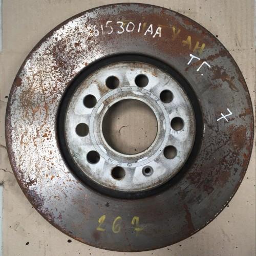 Тормозной диск 1K0615301AA  Volkswagen Tiguan