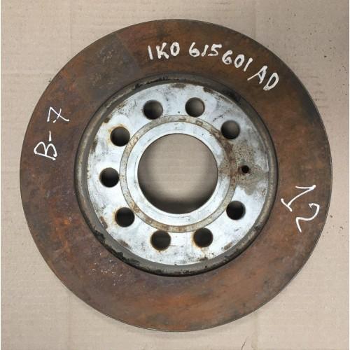 Задние тормозные диски VW Passat B6, B7, 1K0615601AD