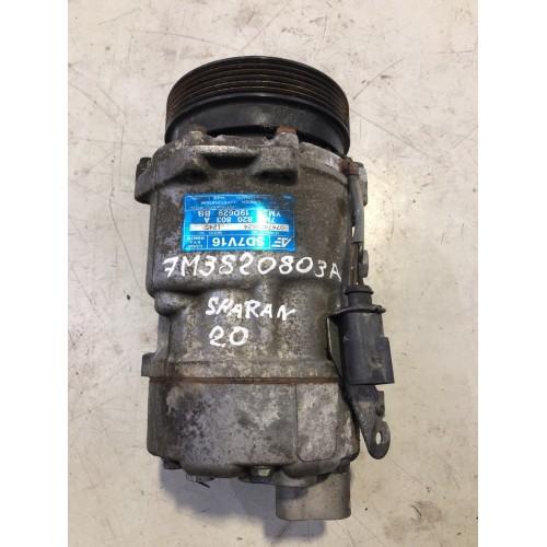 Компрессор кондиционера VW Sharan, Ford Galaxy, 1.9TDi, 7M3820803A