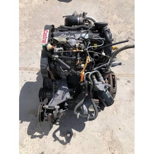 Двигатель мотор двигун AAZ Audi-80 B4, 1.9TDi, (1990), 55kW