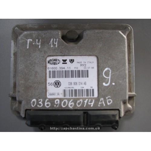 Блок управления двигателем  VW Golf 4, Bora, (1997-2005), 1.4, 036906014AB