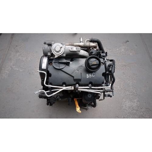 Двигатель BKC 1.9 TDI VW Golf 5 , Bora , Skoda Octavia , Passat B6 , Touran , Audi A3
