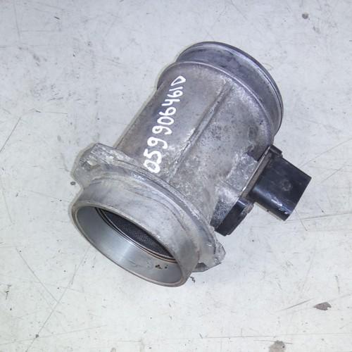 Расходомер воздуха Skoda SuperB, VW Passat B5, 2.5TDi, AYM, 059906461D