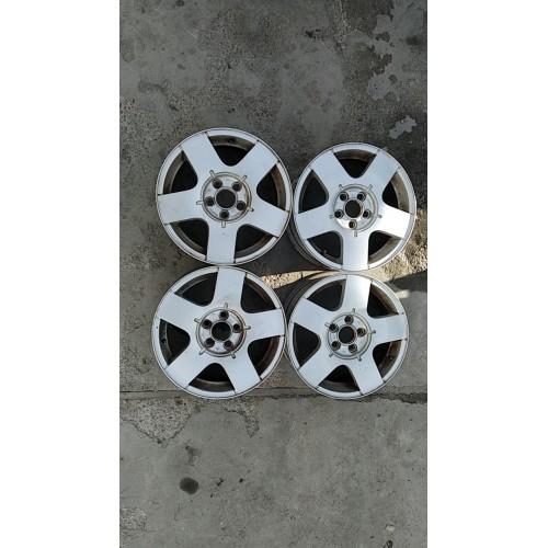 Диски алюминиевые, (литые, титаны) 6Jx15H2, ET38, 5x100x57, 1J0601025B