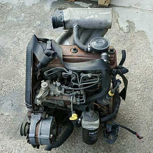 Двигатель 1Y 1.9D ,VW Caddy 2, VW Golf 3, VW Passat B3  47kW