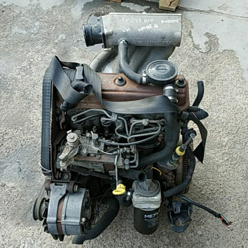 Двигатель 1Y VW Caddy 2, VW Golf 3, 1.9D, 47kW