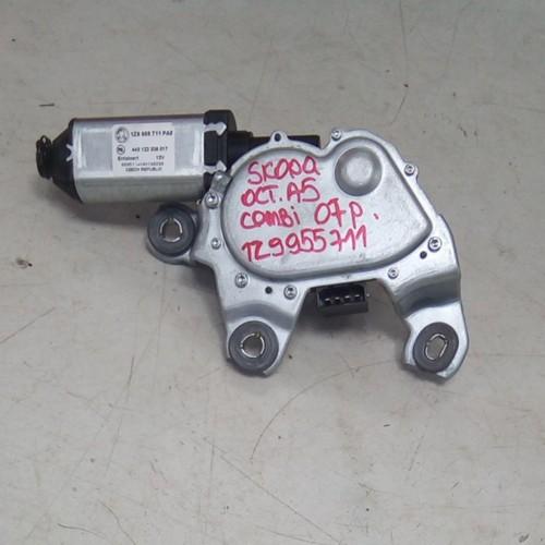 Моторчик стеклоподемника задний (L) Skoda Octavia A5, FL, (2010), 1Z9955711