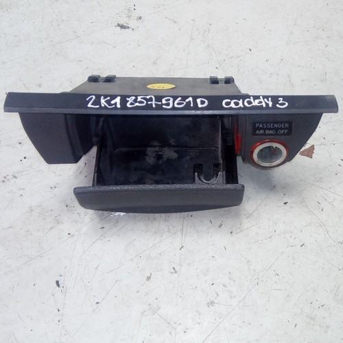 Пепельница с прикуриватилем VW Caddy 3, 2K1857961D