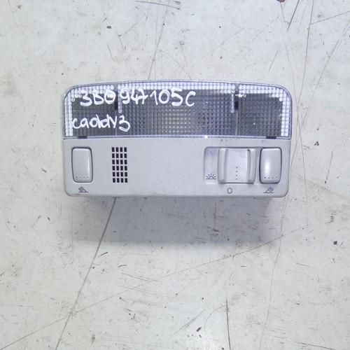 Подсветка салона (плафон) VW Caddy 3, 3B0947105C