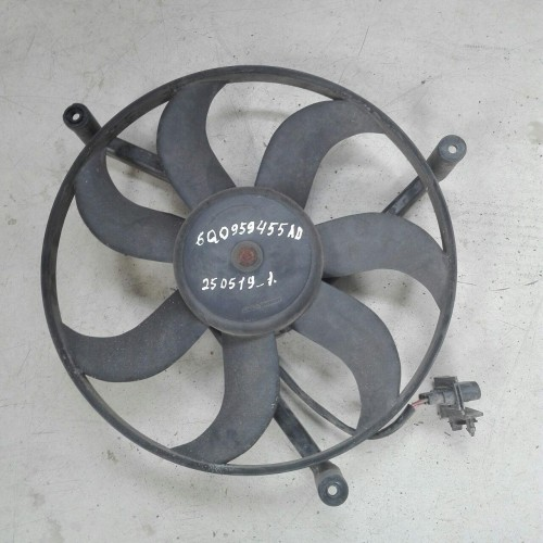 Вентилятор охлаждения Skoda Fabia, 6Q0959455AD