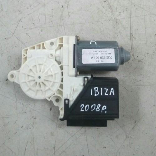 Моторчик стеклоподемника передний (R) Seat Ibiza, Cordoba, (2007), 6Q2989801A