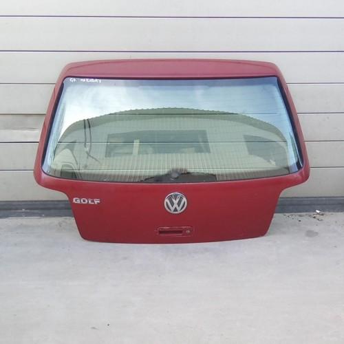 Крышка багажника VW Golf 4, красная