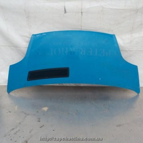 Капот Renault Trafic 2004, голубой