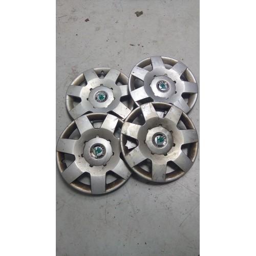 Колпак R14, Skoda Fabia, 200x4, 6y0601147l