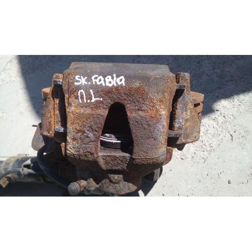 Суппорт передний (L) Skoda Fabia