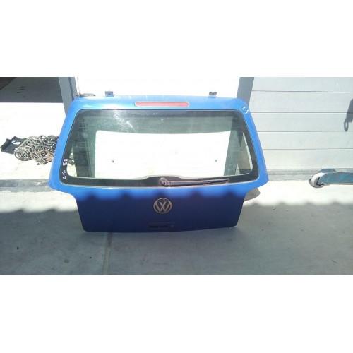 Крышка багажника (ляда) VW Lupo, синяя