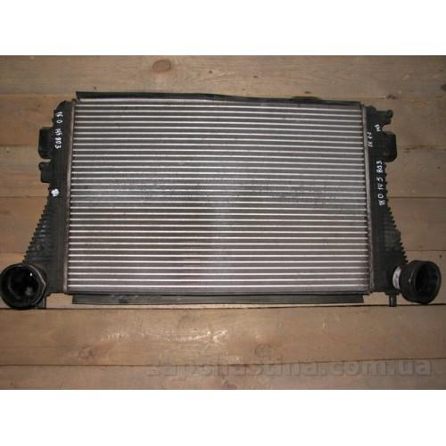 Б/у радиатор интеркуллера для Volkswagen Touran 1.9 TDI 1K0145803