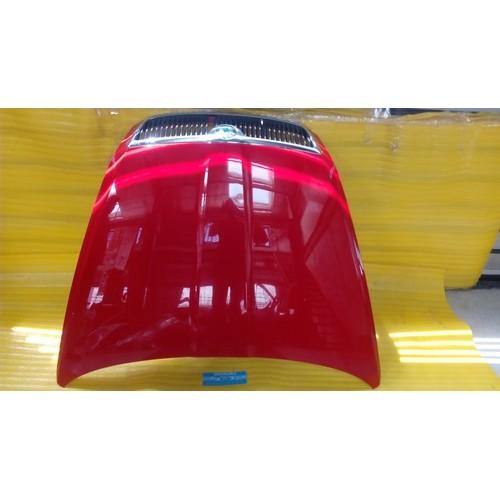 Kапот красный Skoda Octavia A5