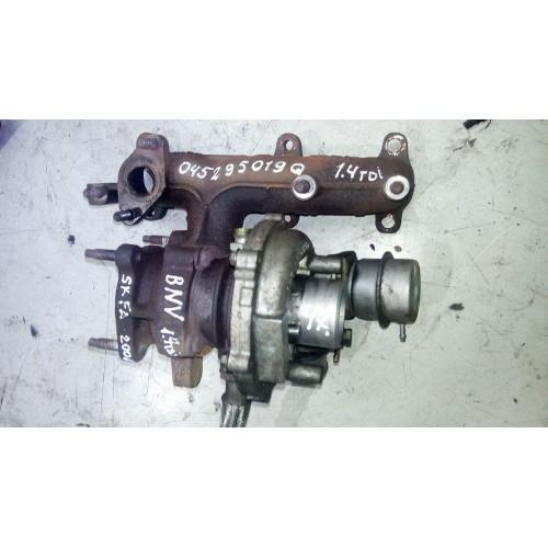 Турбина Skoda Fabia, 1.4TDi, BNV, 045295019Q
