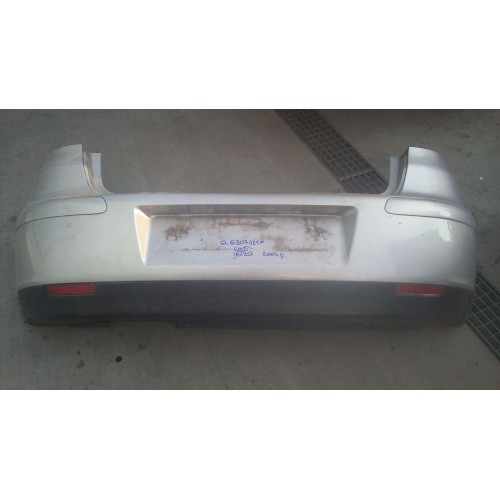 Бампер задний Seat Ibiza, 6L6807421f, серый
