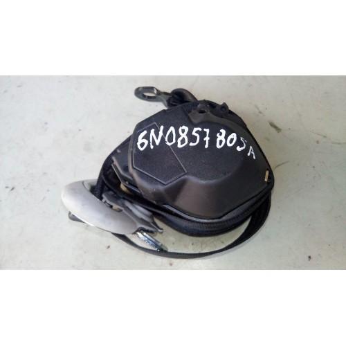 Ремень безопасности задний (L) VW Polo 3, 6N0857805A