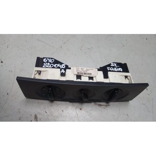 Блок управления печкой Skoda Fabia, 1.2i, (1999-2007), 6Y0820045A