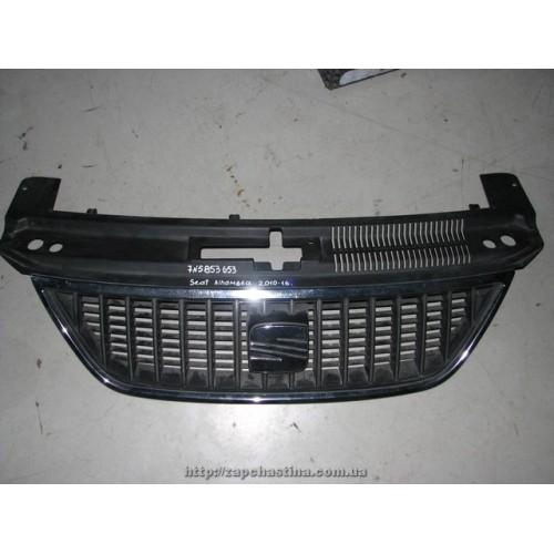 Pешетка радиатора Seat Alhambra, 7N5853653