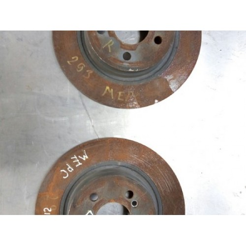 Тормозной диск A2044230912 Mercedes W204
